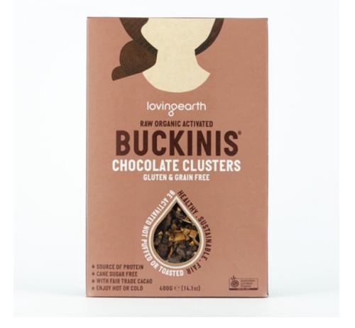 【 Loving earth】 チョコレートクラスター BULK 5 Kg Buckinis Chocolate Clusters