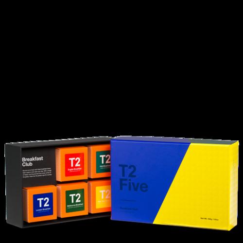 無料ラッピングサービス【T2】T2ファイブ・ブレックファスト160gギフトセット