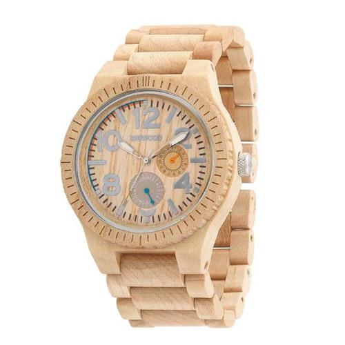 100%天然木製腕時計(男女兼用)/Kardo カラーBeige