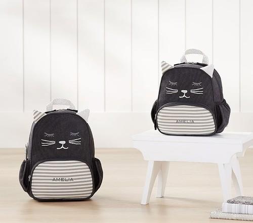 《お名前入れ無料》Emily & Meritt Kitty Critter Backpack エミリー&メリット リュック 子猫 サイズXS