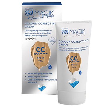 死海CCクリーム Dead Sea Spa Magik CC Cream SPF15 50ml