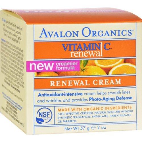 [アバロンオーガニック] ふっくらスベスベ!ビタミンC リニューアルフェイシャルクリーム