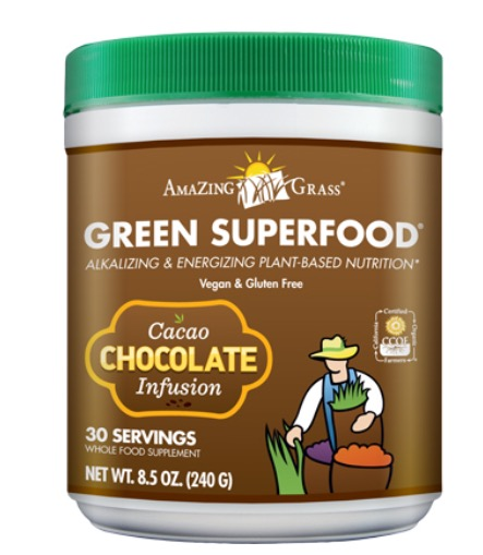 Green Superfood Chocolate Infusion