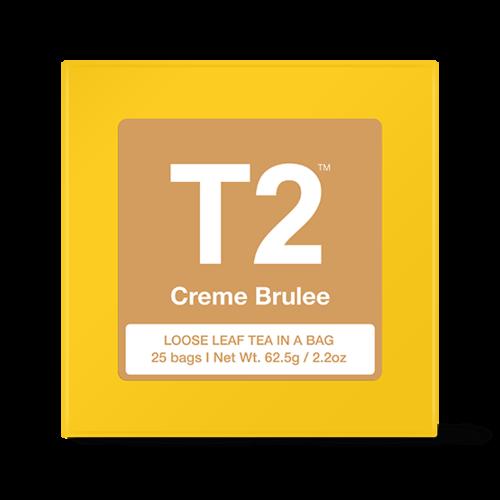 フレイバーティー*クリームブリュレ*ティーパック 25袋 Creme Brulee Cube