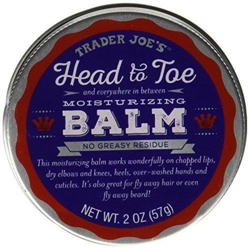 日本未発売・トレーダージョーズ ヘッド トゥートゥ モイスチャライジングバームx3/Trader Joe's Head to Toe Moisturizing Balm 57 x 3g