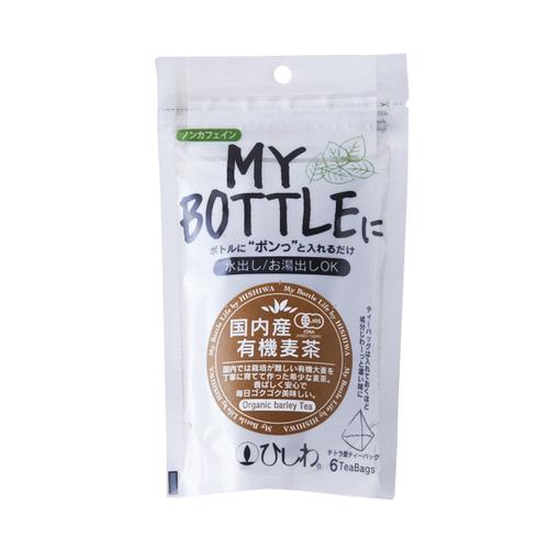 菱和園 マイボトル 国内産有機麦茶ティーバッグ 18g(6袋)