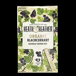 有機ハーブティー クロスグリ Heath & Heather Organic Blackcurrant