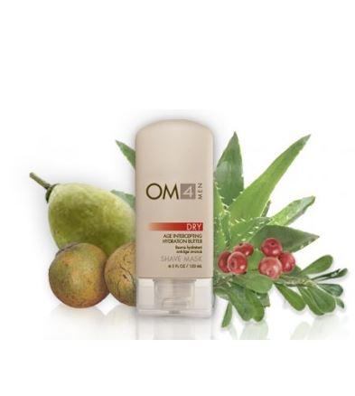 オーガニックメール 乾燥肌用シェービングマスクジェル (Organic Male OM4 Dry)