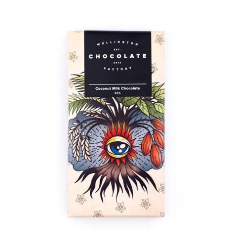 ココナッツミルクチョコレート 52%