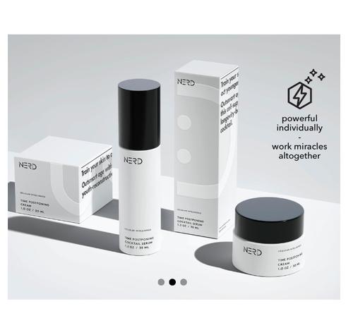 ナードスキンケア アンチエイジングシステム (Nerd Skincare Time Postponing System)