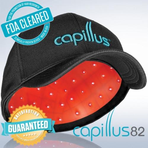 Capillus82 Laser Cap for Hair Regrowth カピラス 低出力レーザー育毛キャップ帽子
