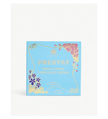 Prestat 英国王室御用達 ローズ & バイオレット チョコレート 140g