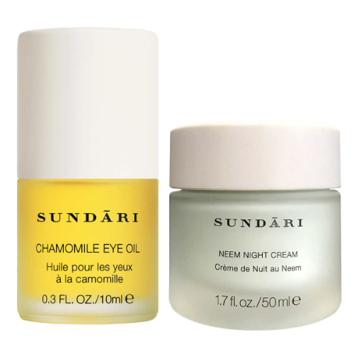 Sundari Chamomile Eye Oil & Neem Night Creamアイオイル&ネームナイトクリーム