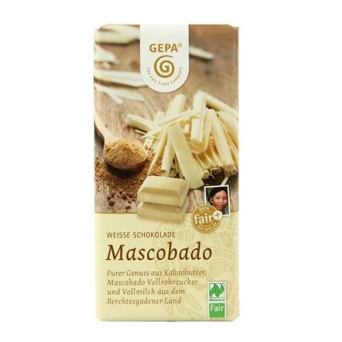 オーガニック マスコバドホワイトチョコレート